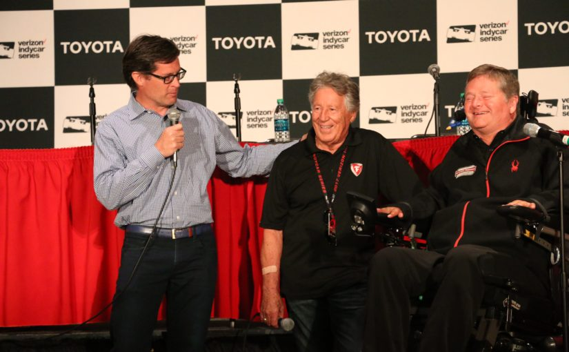 Sam Schmidt to Take on Mario Andretti at Indianapolis Motor Speedway